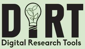 Dirt: Digital Research Tools