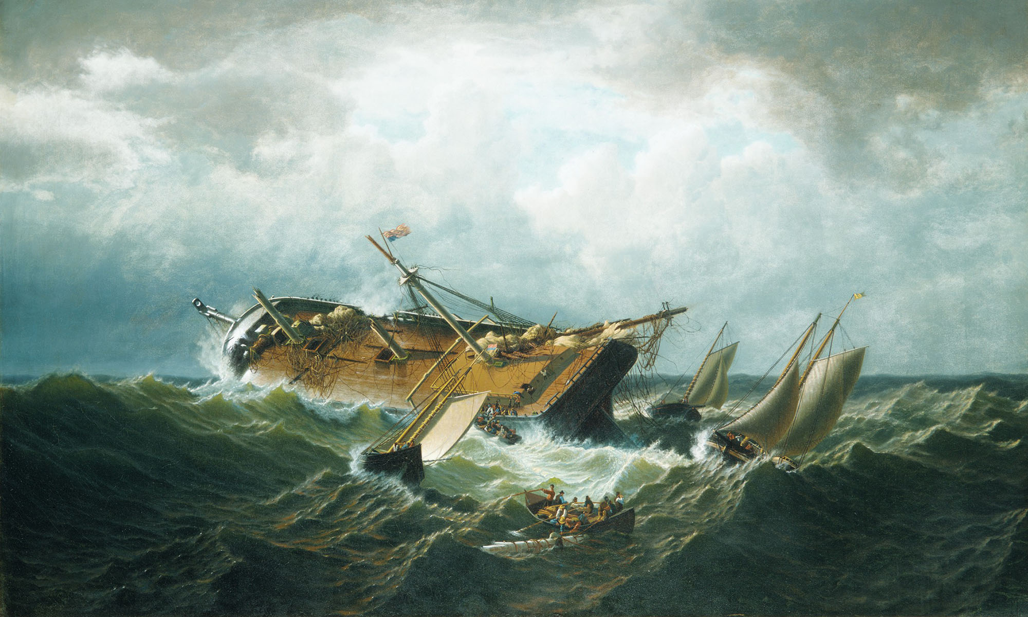 Shipwreck off Nantucket